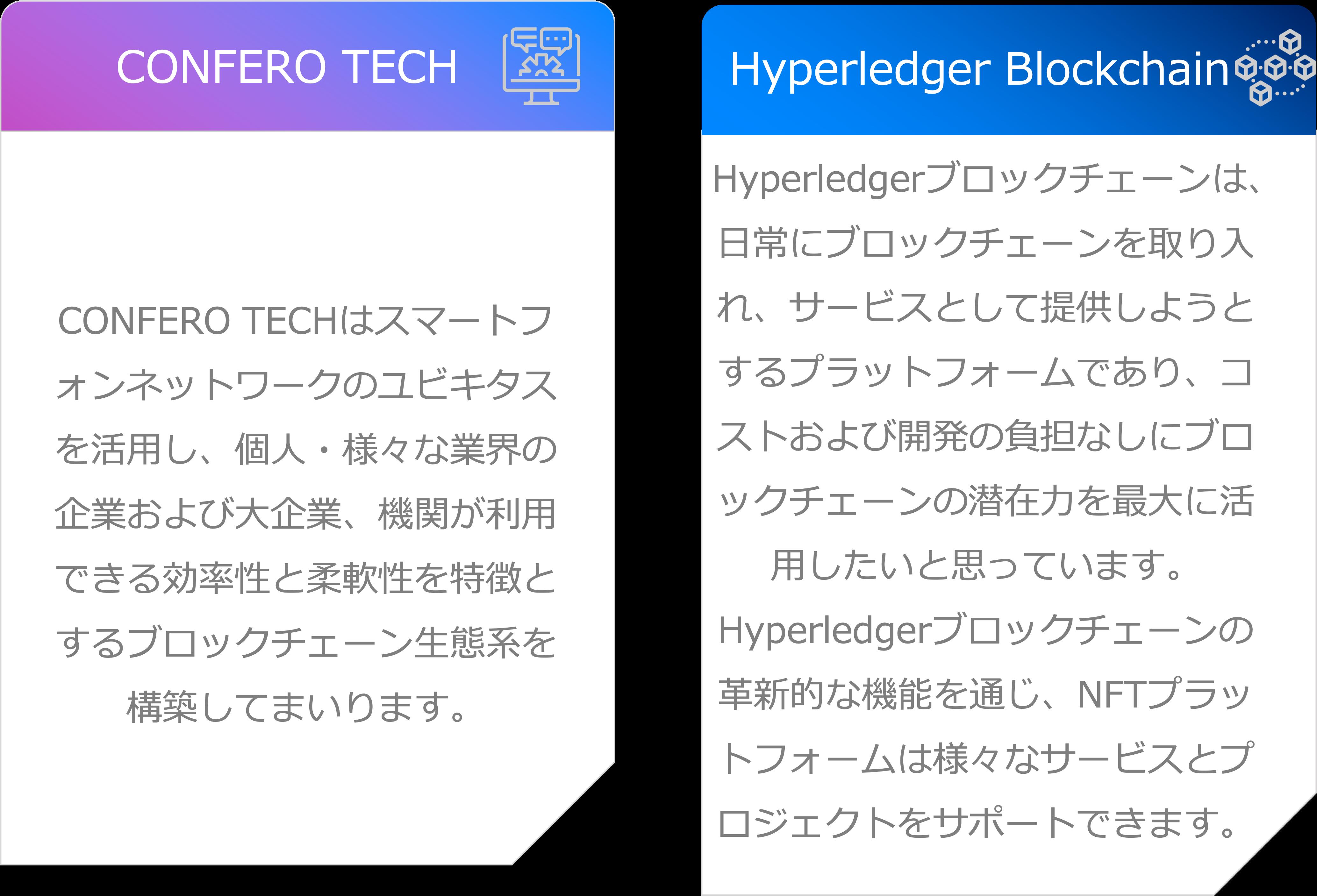 CONFEROのオリジナルブロックチェーン
